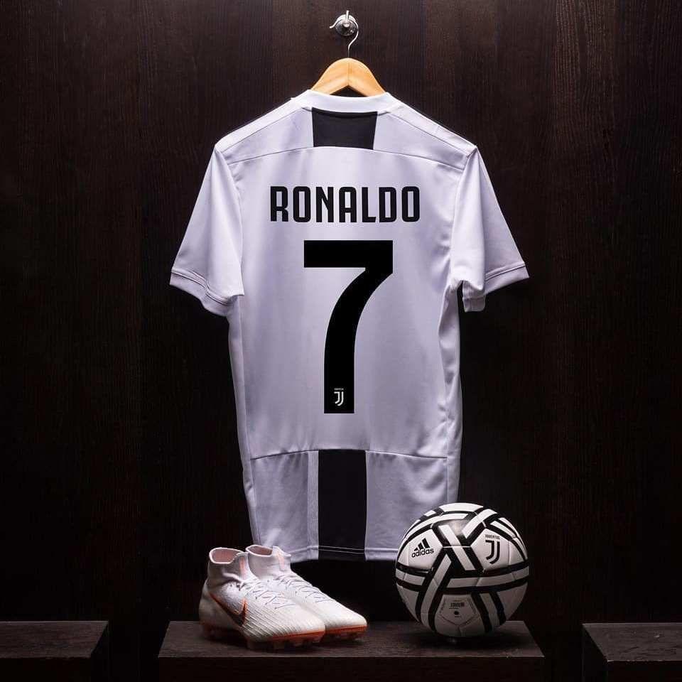 newest 1380d 91343 Jersey Juventus 18-19 Cristiano Ronaldo 100% Original