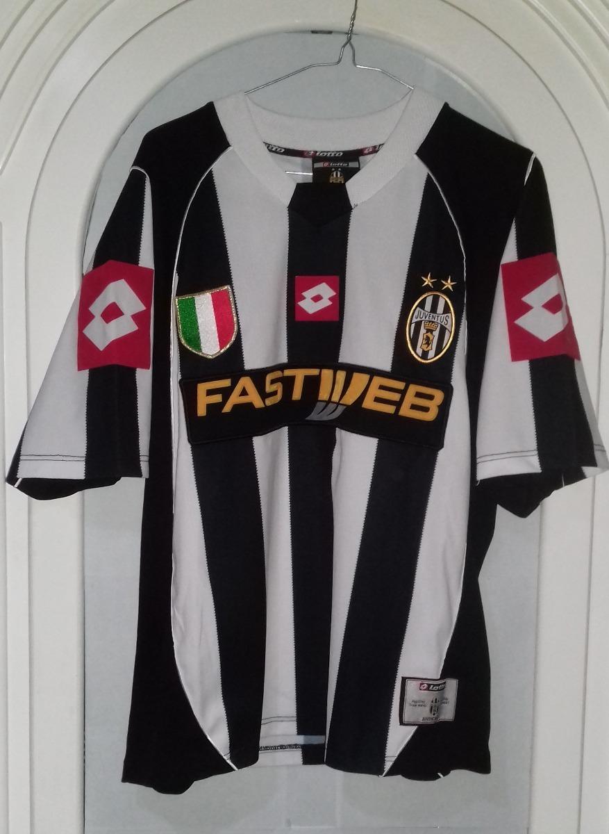 online retailer d8b9b 38225 Jersey Juventus De Italia Lotto Año 2002-2003 Talla Xl O G