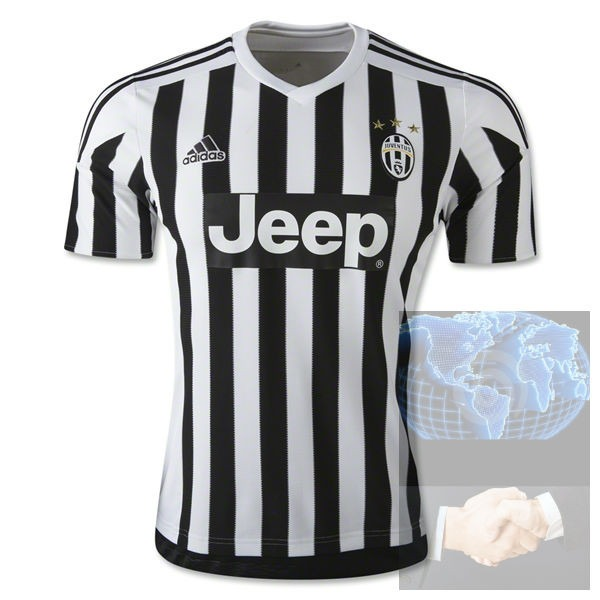 04cf303f24204 Jersey Juventus Local Blanca Negra adidas 2016 Blanco Player ...