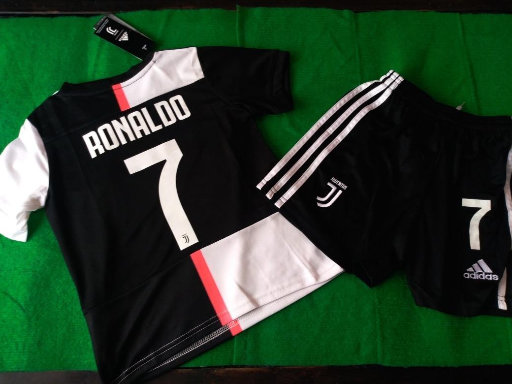 promo code a97cb 071bc Jersey Juventus Niño Con Tipografia Original Ronaldo 7