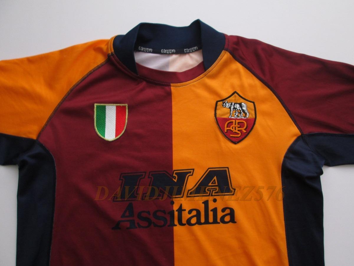 b536a96ad43b2 Jersey Kappa  As Roma 2001-02   Importada  De Epoca!! -   450.00 en ...