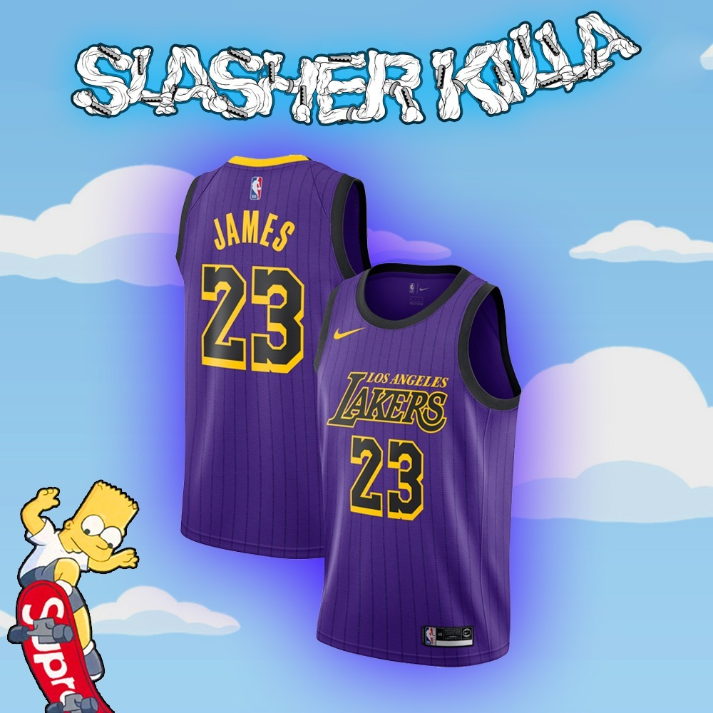low price 2e0a5 7ff12 Jersey Lakers Original Lebron James City Edition Nba Ch A Xg