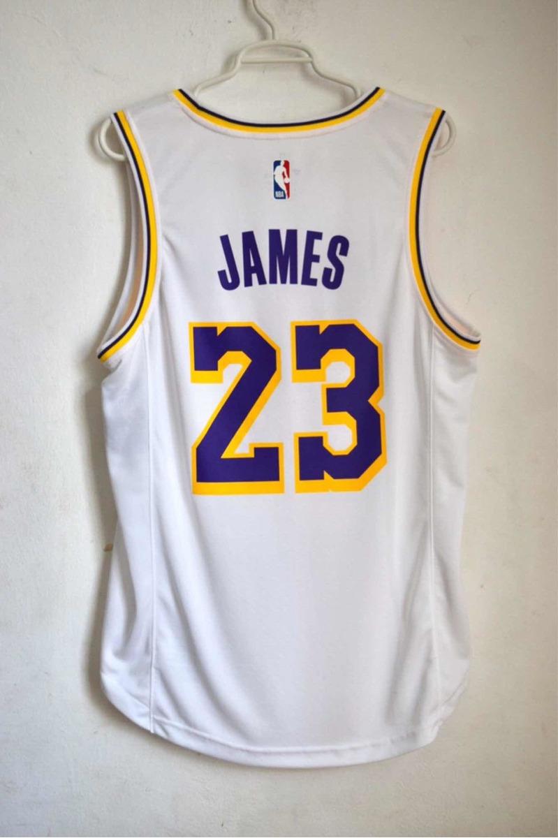 half off 98c02 656a7 Jersey Lakers Original Lebron James Nba Fanatics Talla S