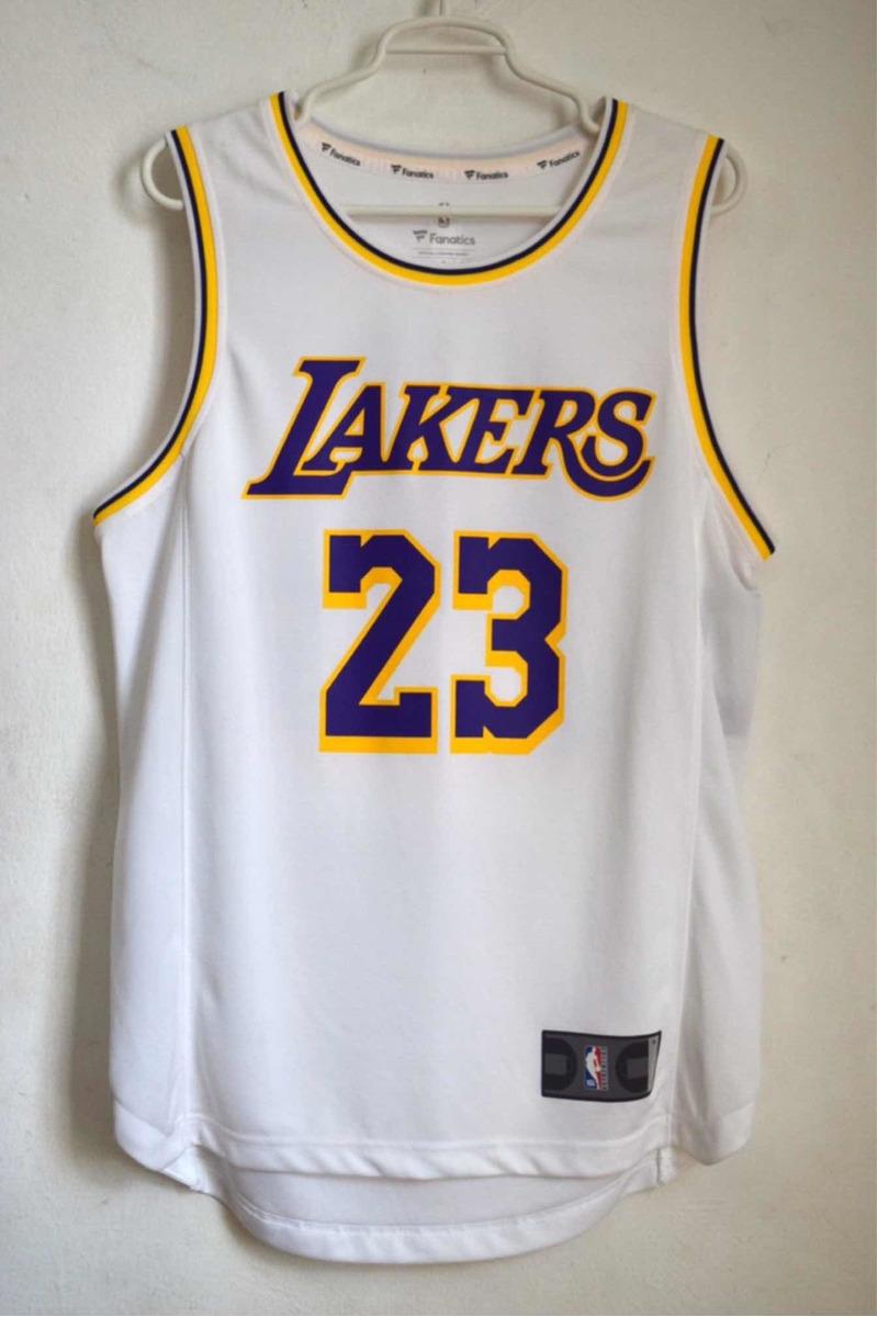 half off 946ce 6e6a3 Jersey Lakers Original Lebron James Nba Fanatics Talla S