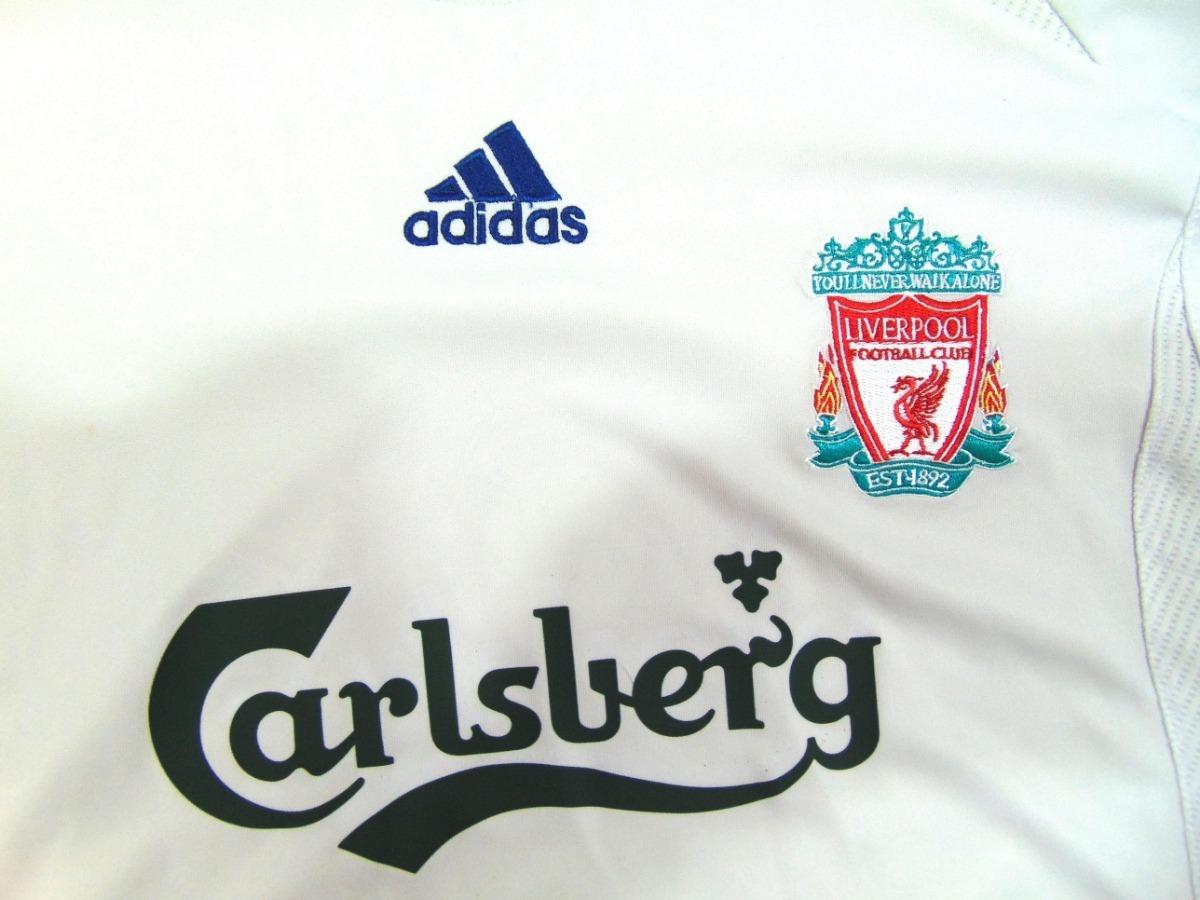 detailed look 02873 fe371 Jersey Liverpool 06-07 Gerrard Visita De Champions League