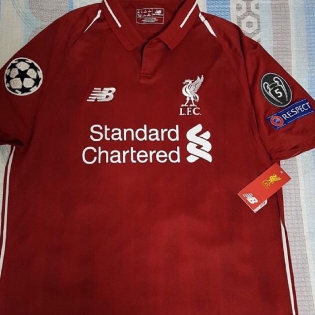 103c1996d93 jersey liverpool 2019 local rojo champions envío gratis. Cargando zoom.