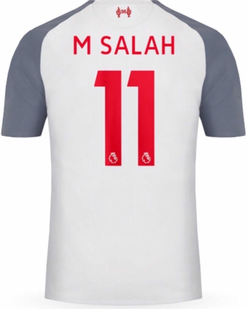 big sale a5638 1ca45 Jersey Liverpool 2019 Tercero Mohamed Salah Envío Gratis