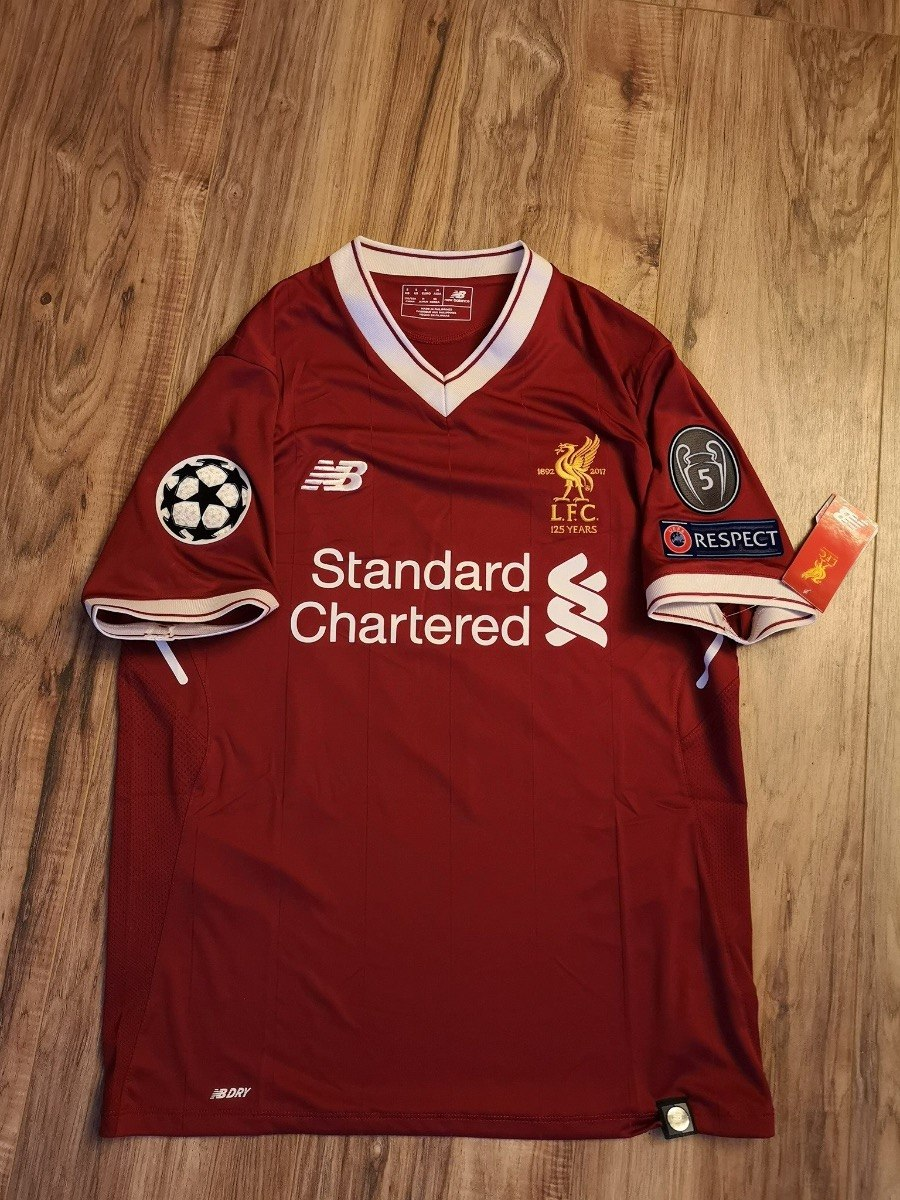 free shipping 8f49f 0f722 Jersey Liverpool New Balance 2017-18 Local Champions League - $ 2,500.00