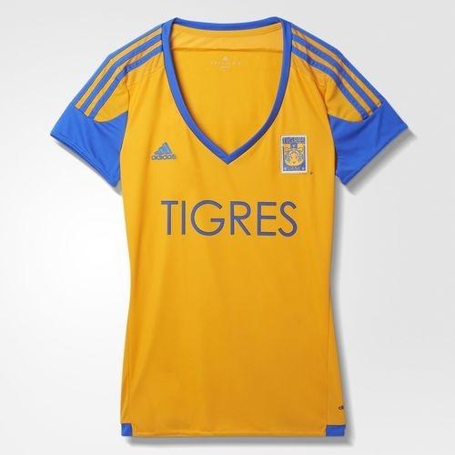 Jersey Local Tigres Uanl Mujer X L Futbol Soccer -   899.00 en ... 2c27b77cb80ee