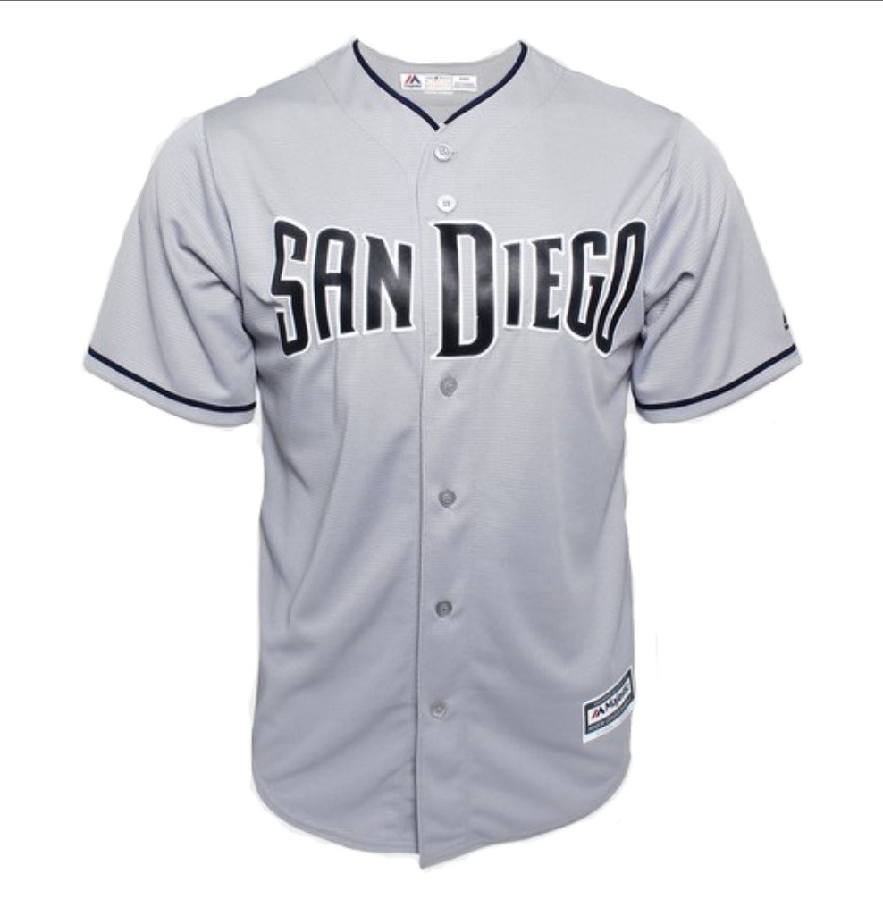 the best attitude 5b7d9 4a2a3 Jersey Majestic Mlb San Diego Padres S/n°
