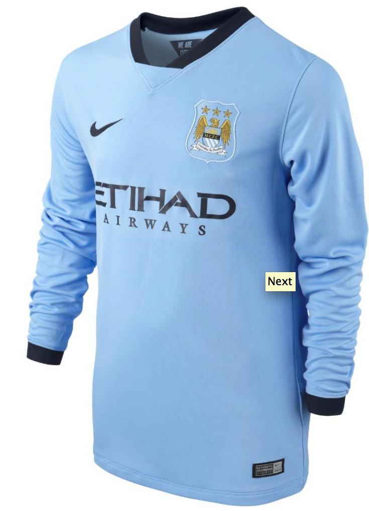 comprar camiseta Manchester City manga larga