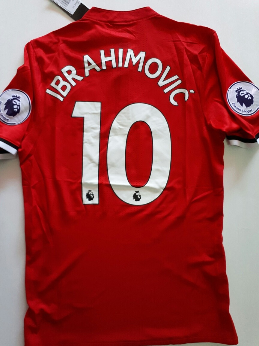 jersey manchester united 17 18 local ibrahimovic player vers. Cargando zoom. 22155a368