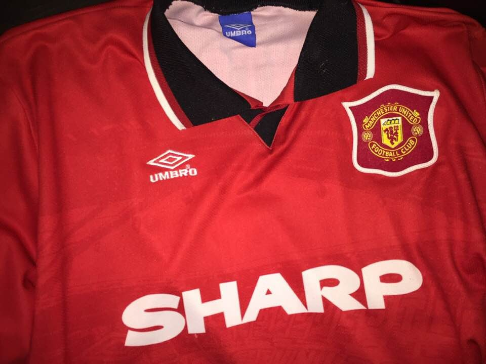 finest selection 13fac 2bd07 Jersey Manchester United 1994-1995 Umbro Local #7 Cantona - $ 899.00