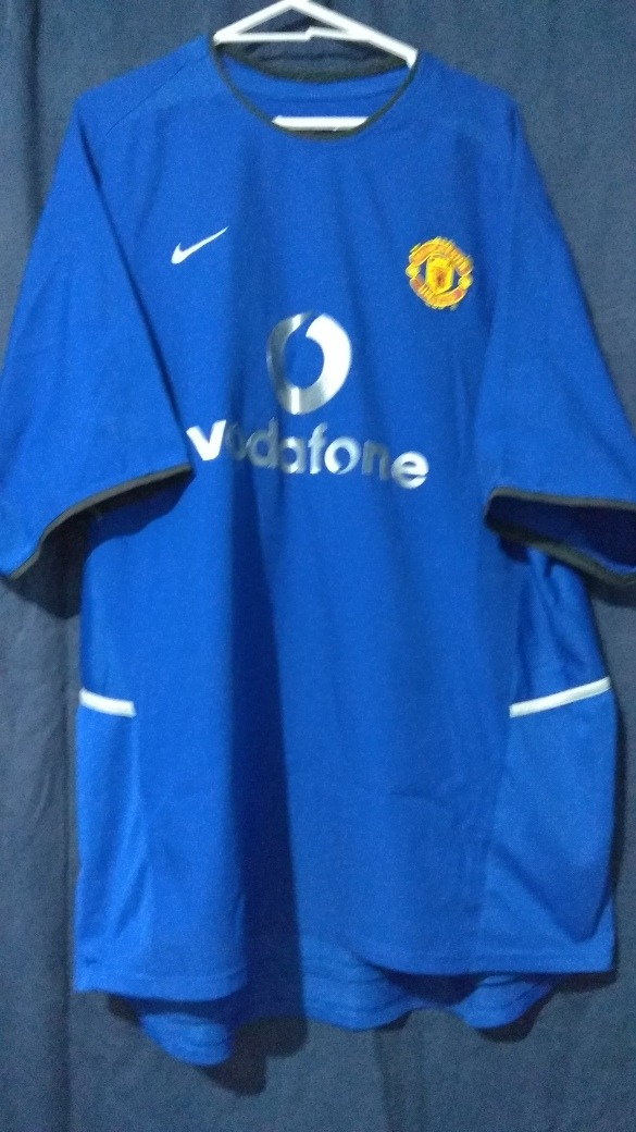 release date ac7ae 4ee06 Jersey Manchester United 2003 L No City Chelsea Real Madrid - $ 1,000.00