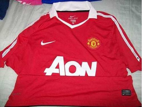 jersey manchester united 2010- 11 época chicharito hernández