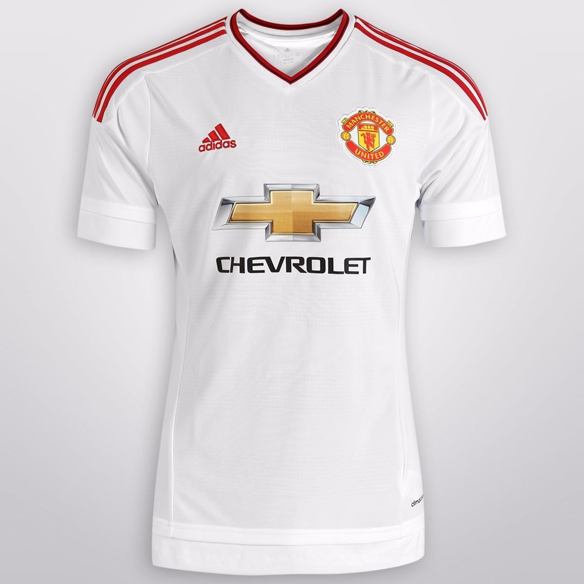 Jersey Manchester United Blanco Uniforme Futbol +shortgratis ...