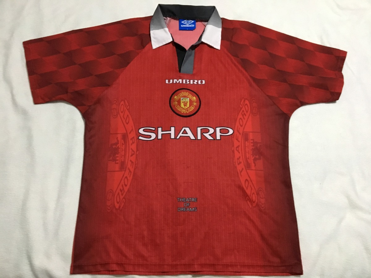 cheap for discount 3bed6 3742c Jersey Manchester United Inglaterra Umbro 1996 Local D Epoca - $ 999.00