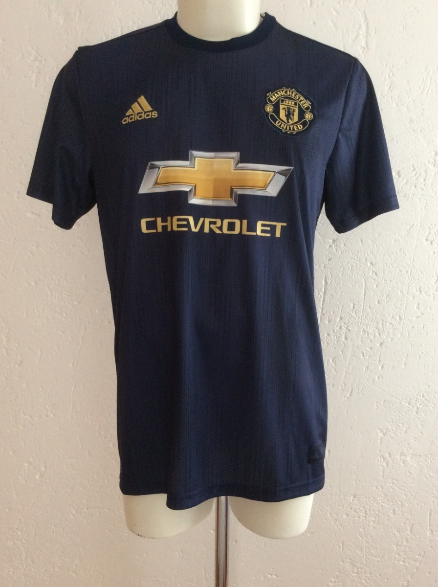 low priced ffe00 25e34 Jersey Manchester United Tercer Uniforme Parley 2019 adidas