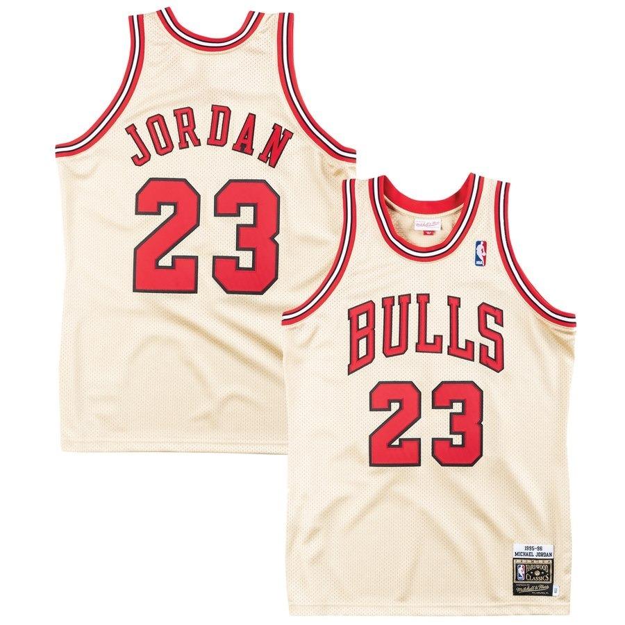 online store f009a 79bdc Jersey Men's Chicago Bulls Michael Jordan Mitchell & Ness