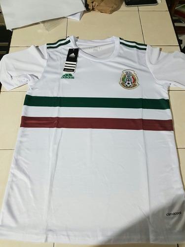 jersey mexico 2017-2018 visitante blanco nuevos envios grati