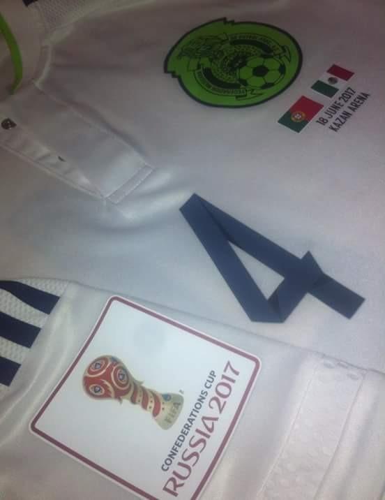 d86c7567036e5 Jersey Mexico Adizero Blanco Confederaciones 2016 Nuevo 17 ...