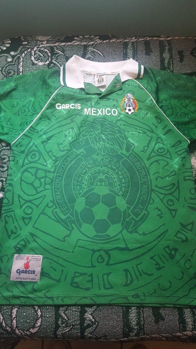 Jersey Mexico Garcis Copa Confederaciones 1999 -   700.00 en Mercado ... c512dccace2