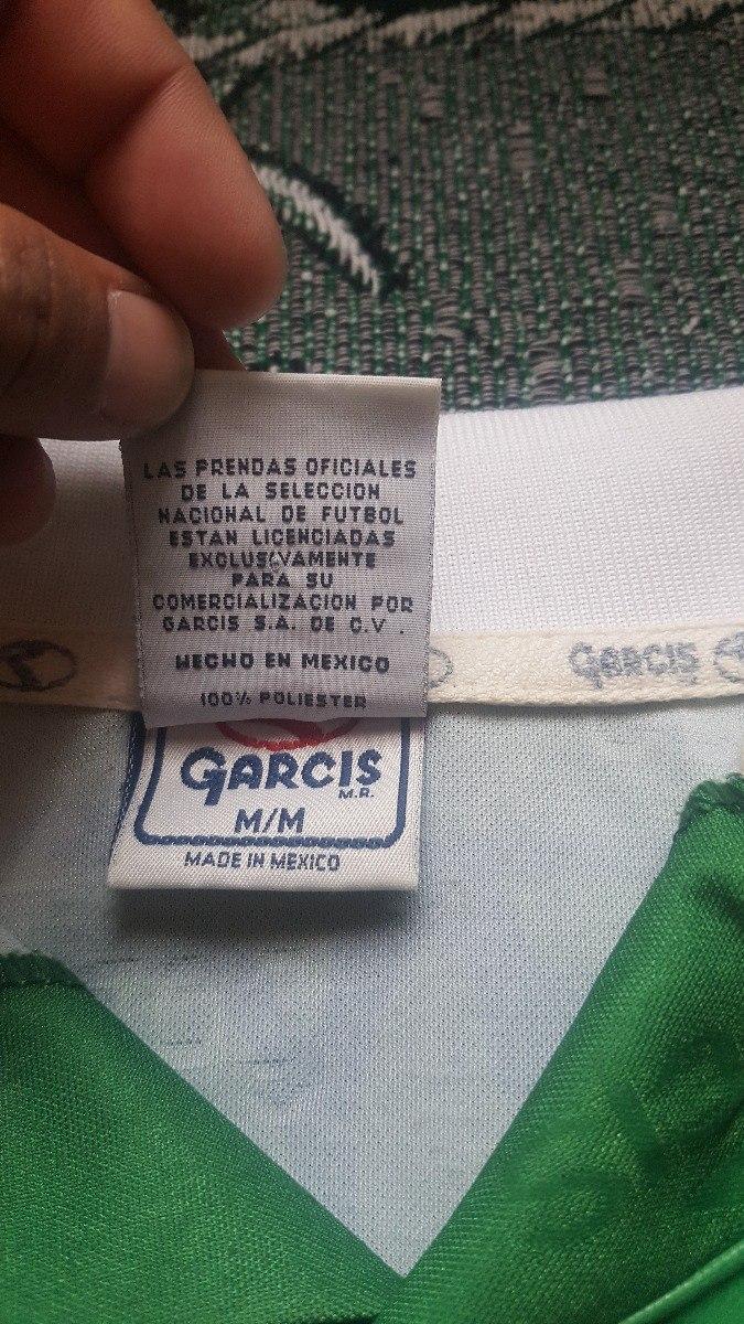 Jersey Mexico Garcis Copa Confederaciones 1999 -   700.00 en Mercado Libre 80acccc257c