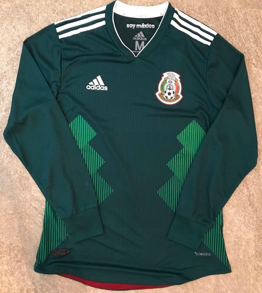 Jersey México Local 2018 Climachill Manga Larga -   990.00 en ... a1902ff9f5d60