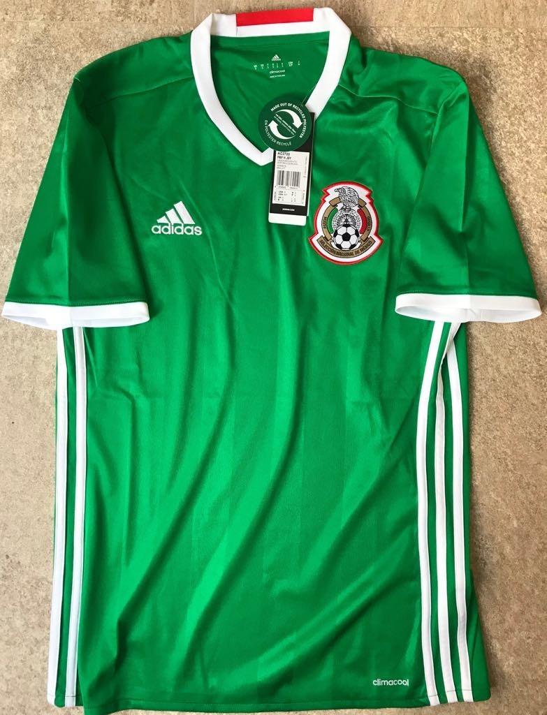 los angeles 49b3f 02bec Jersey México Local Eliminatorias Rusia 2018 Lozano