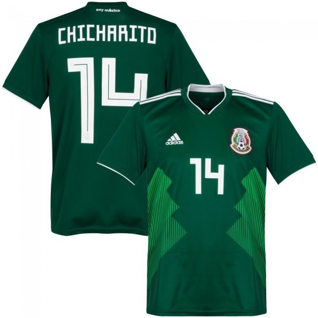 f8f9e4027d6f8 Jersey Mexico Mundial 2018 Verde Local Original ! -   945.00 en ...