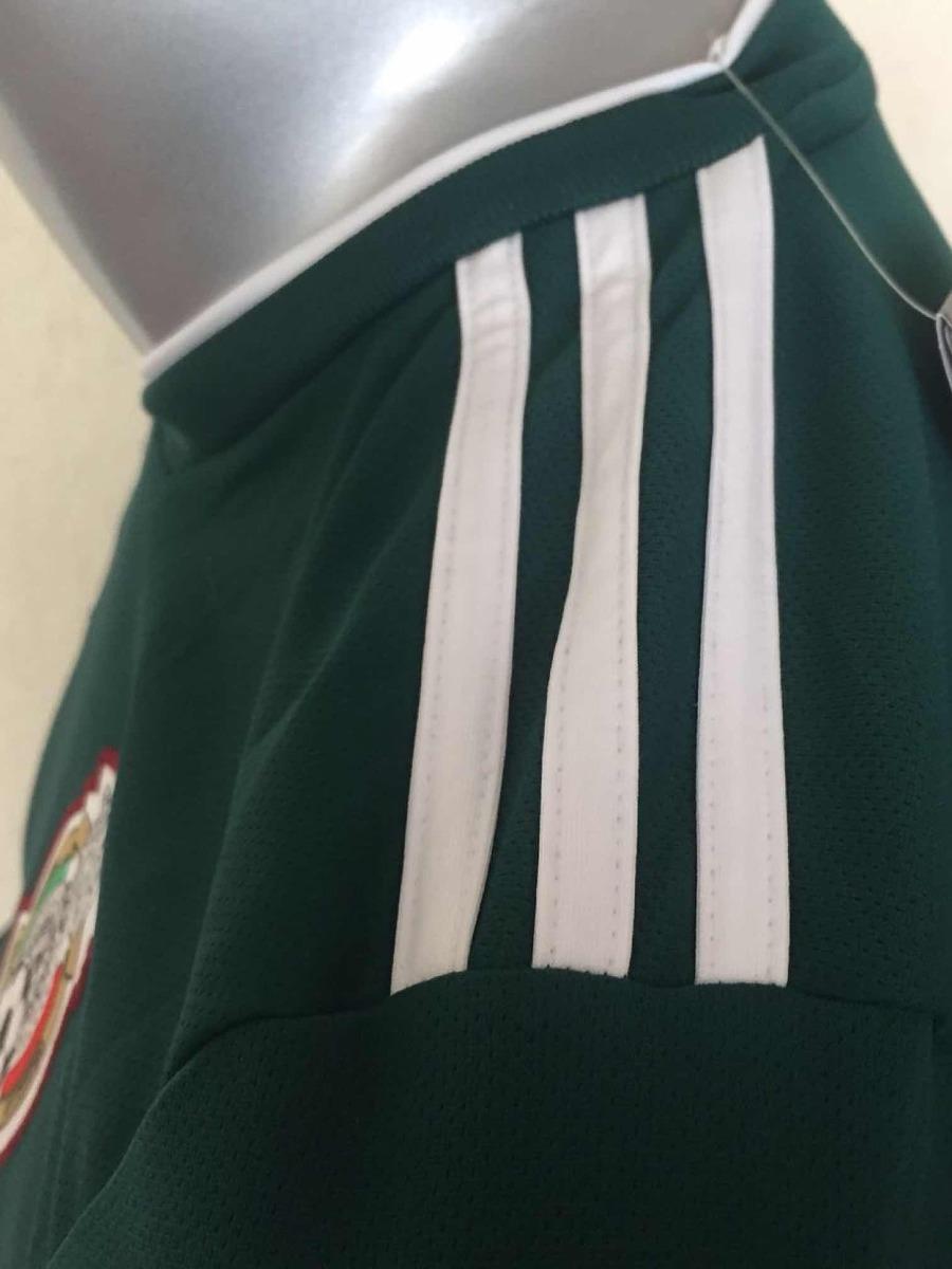 jersey méxico mundial rusia 2018 local manga larga adidas. Cargando zoom. af548a0aa2c1b