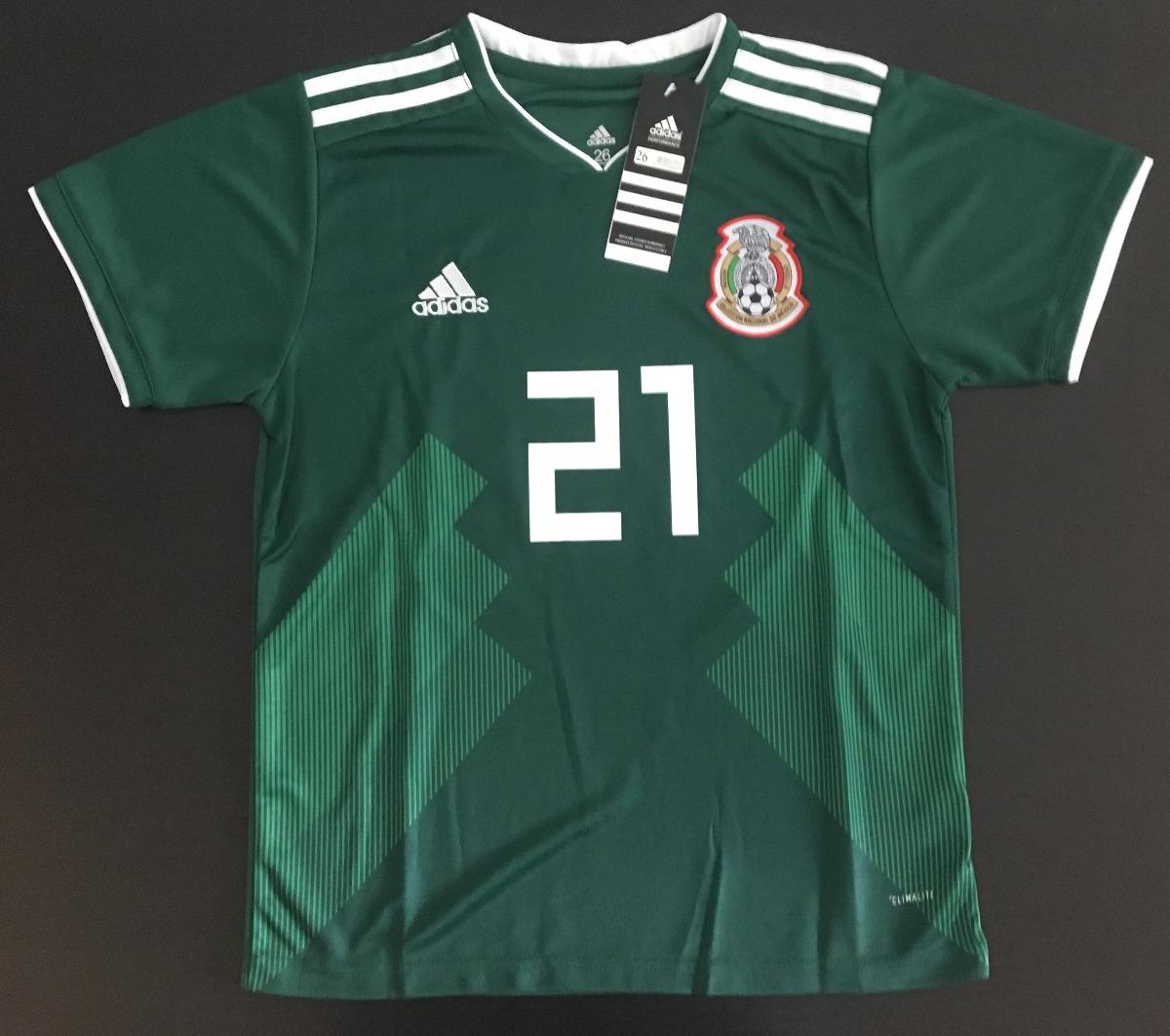 eafd2eb33f725 jersey mexico niño niña mundial 2018 hirving chucky lozano. Cargando zoom.