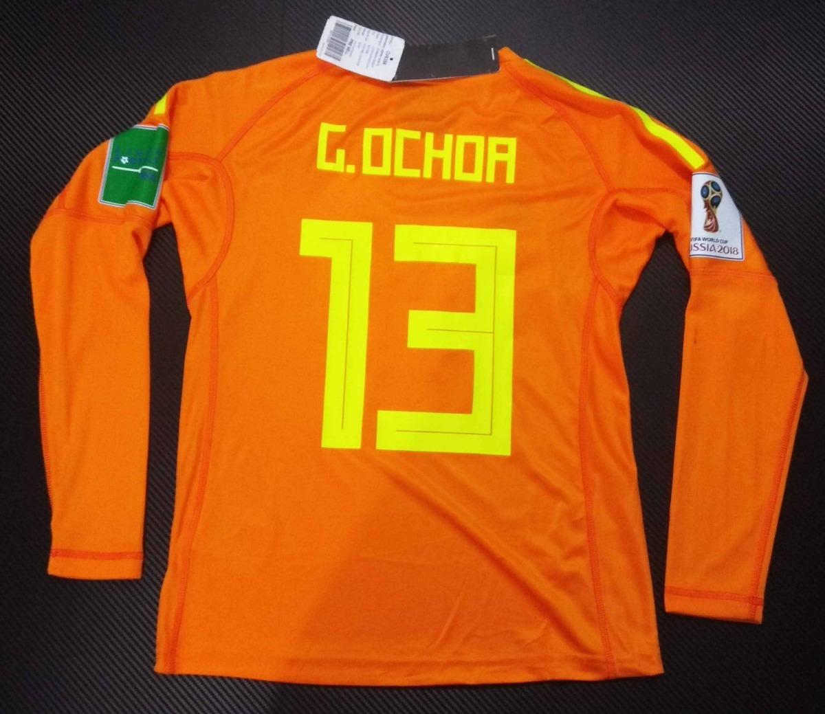 0216fc5ef115e Jersey Mexico Portero adidas Guillermo Ochoa De Niño -   999.00 en ...