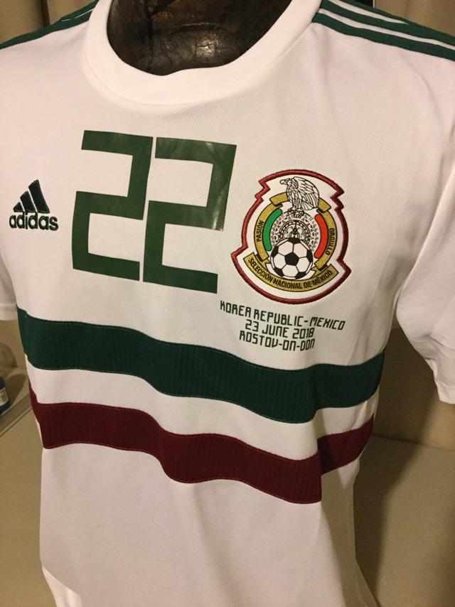 a45f80c5aa164 jersey mexico rusia 2018 adidas chuky lozano korea. Cargando zoom.