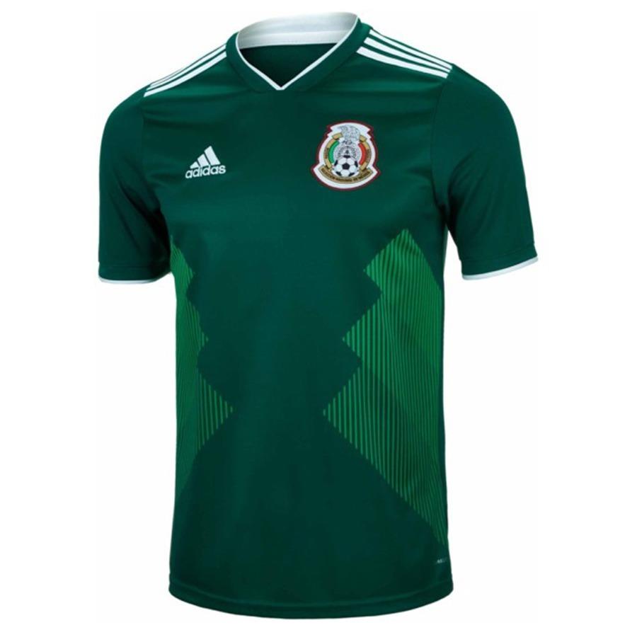 Jersey Mexico Seleccion Mexicana Playera Mundial Rusia 2018 ... 6358719eeebeb