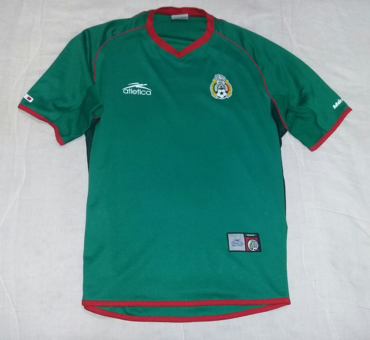 23dbfa9f538aa Jersey Mexico Verde   Coca Cola   2002   Envio Incluido -   349.00 ...