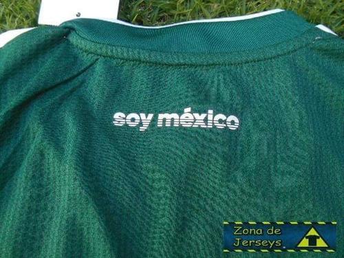 jersey mexico version jugador mundial 2018 reducida