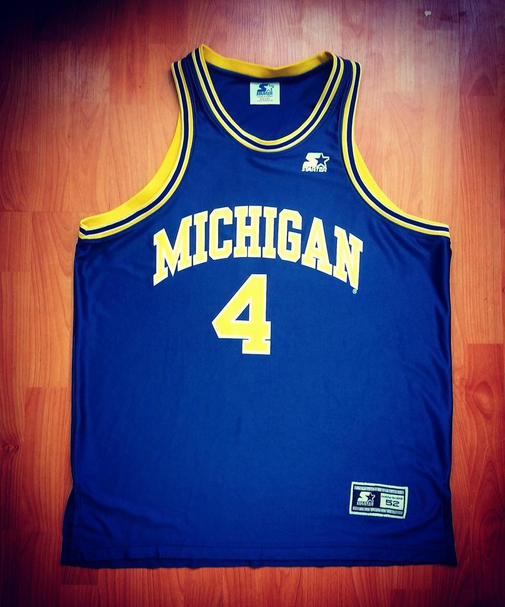online retailer 28b12 fa377 Jersey Michigan Chris Webber