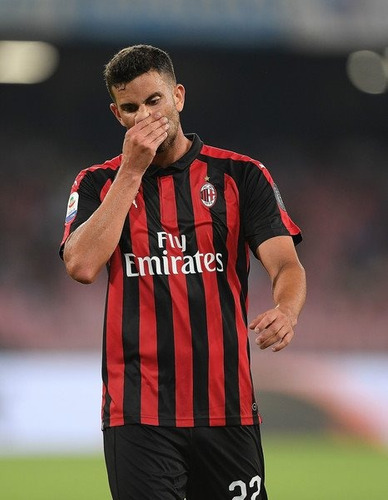 jersey milan puma 2019 local negro rojo nueva local player