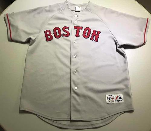 best sneakers 6faa5 1f316 Jersey Mlb Boston Red Sox Xl Boys 150