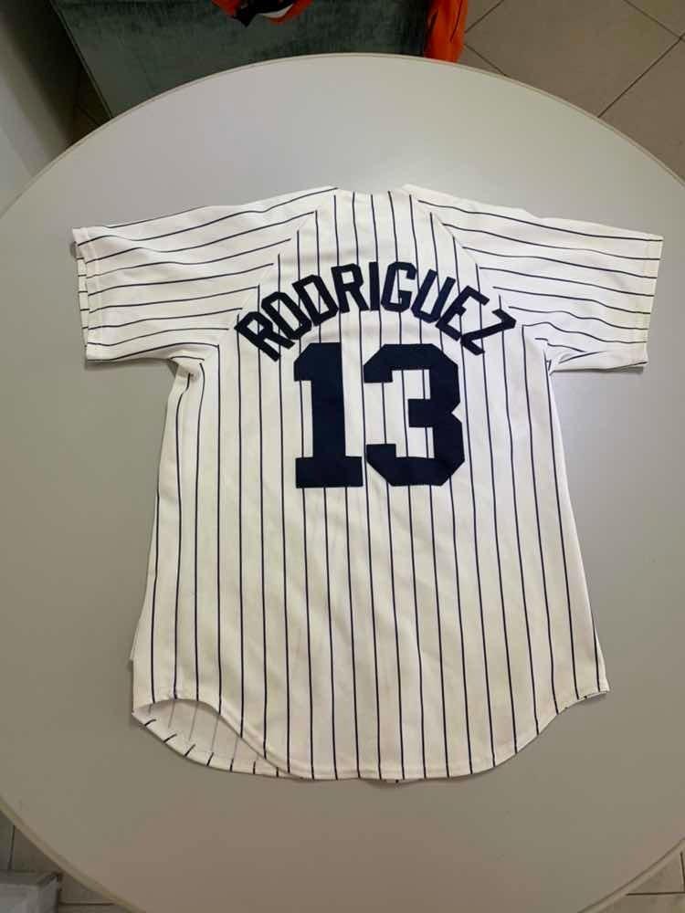 best service f0b4d b09fa Jersey Mlb New York Yankees Rodriguez M 190 - $ 550.00