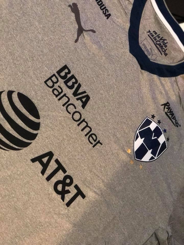 jersey monterrey alternativo gris  2018 envío gratis