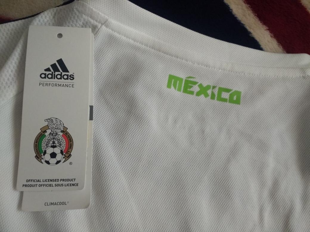 8f3cacf435a0c jersey mujer adidas selección mexicana 2016 blanco méxico. Cargando zoom.