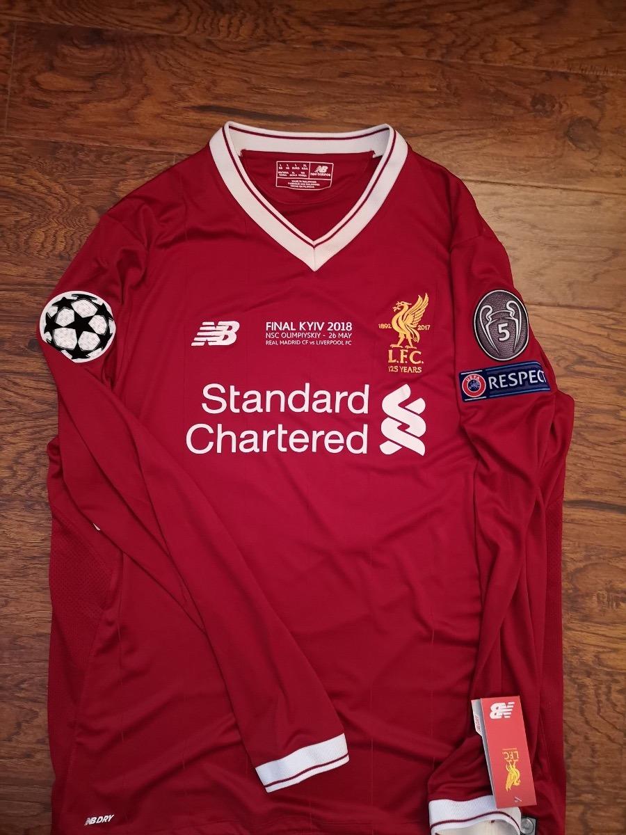 quality design c67e2 2d9a3 Jersey Nb Liverpool Final Champions Ls 2018 Kiev Original