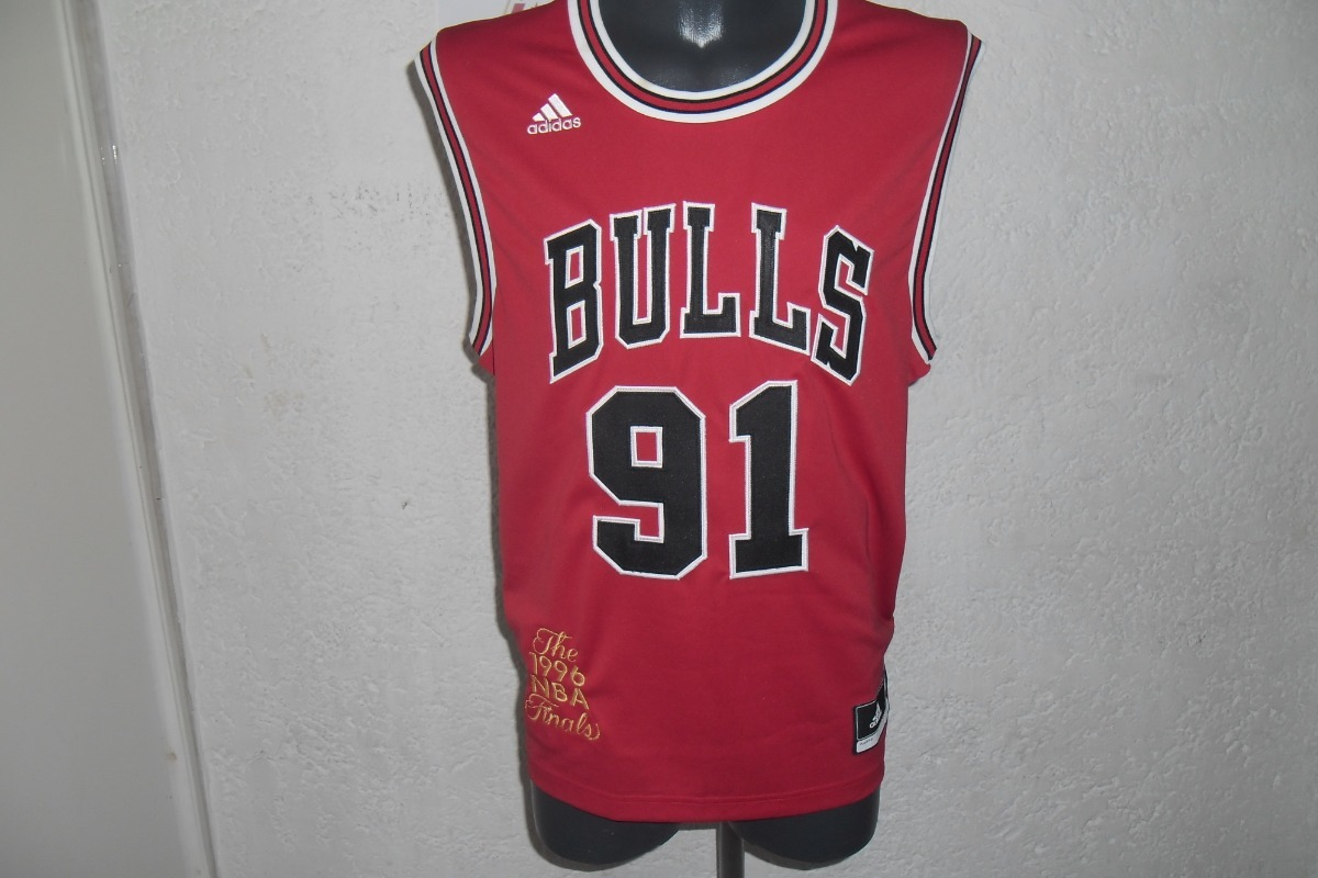 sports shoes 9ef8b 6de39 Jersey Nba Chicago Bulls Dennis Rodman Finals 1996