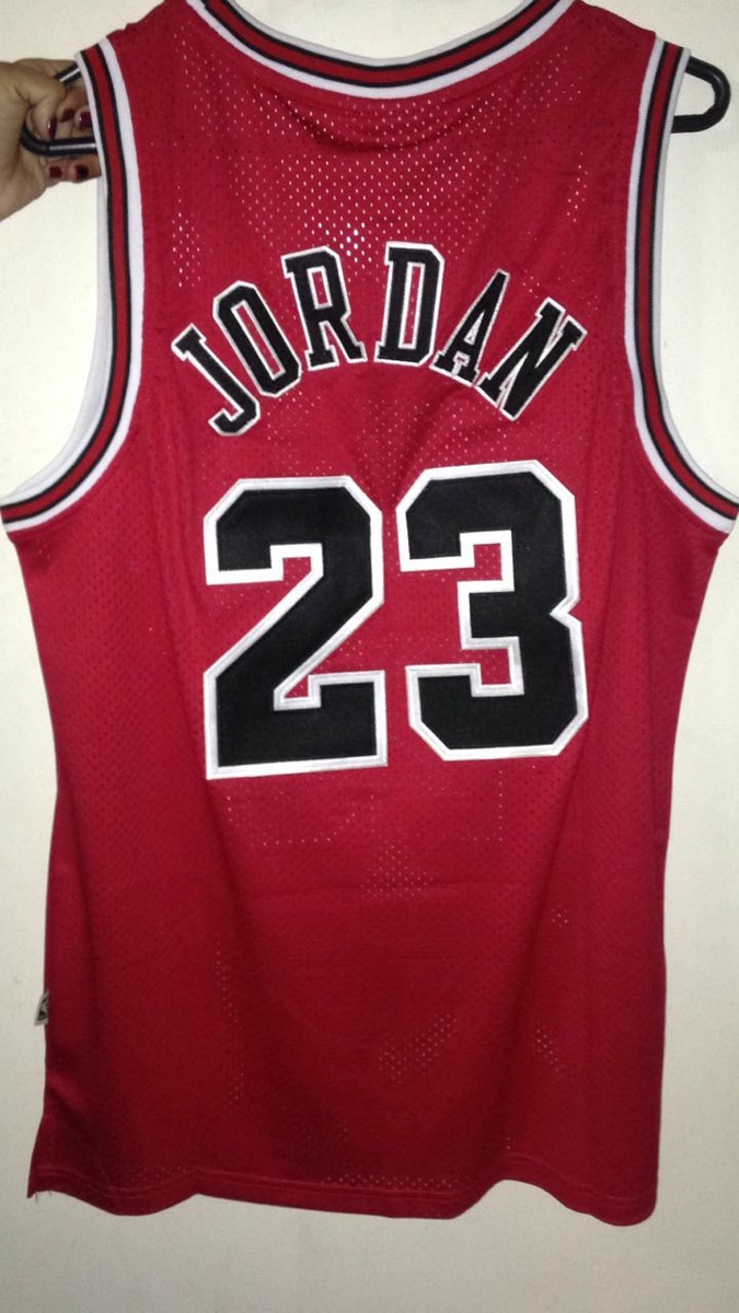 40f2f13f60662 Jersey Nba Chicago Bulls Michael Jordan Nueva Mitchel   Ness ...