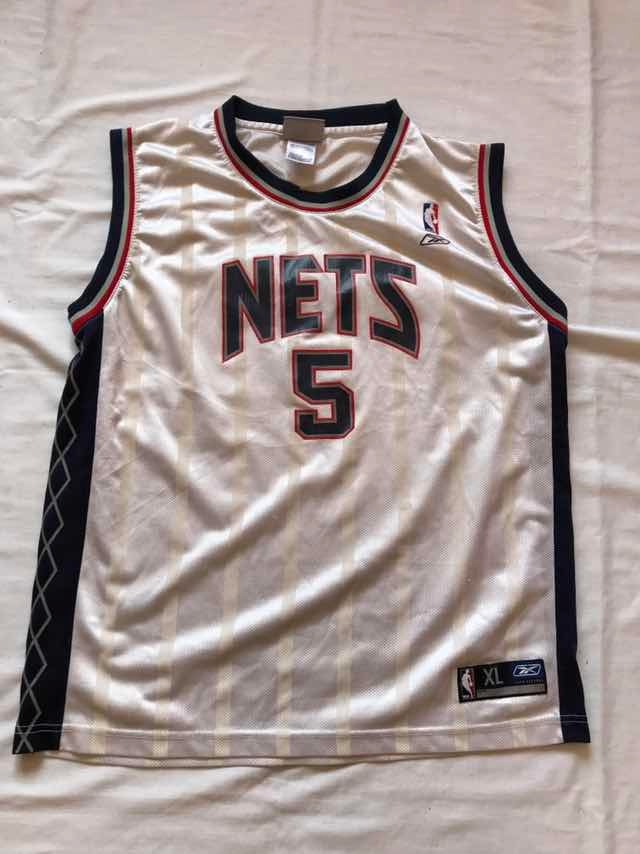 best sneakers 441f2 f5546 Jersey Nba Jason Kidd Nets Xl Juvenil Reebok #464 - $ 350.00