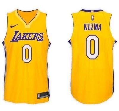 buy online 7c88d 3dc0a Jersey Nba Lakers #0 Kuzma Talla: M Nike Original Sellada