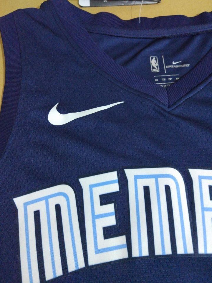 watch f7726 1ab1a Jersey Nba Memphis Grizzlies Authentic