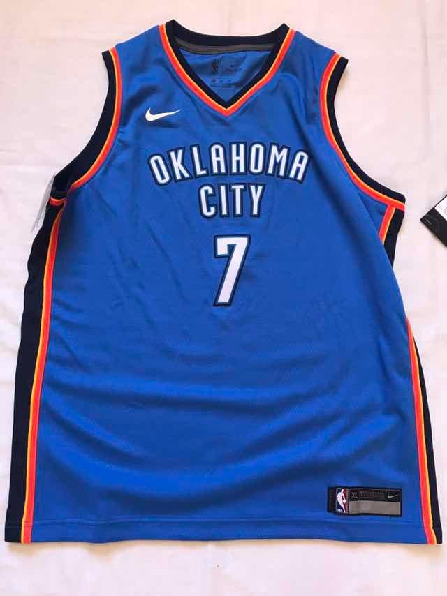san francisco 08099 65b2c Jersey Nba Okc Thunder Carmelo Anthony Nike Xl Juvenil